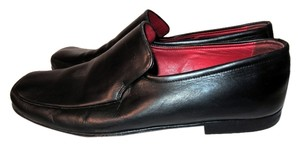 Bally Loafers Leather Italy Classic Black Flats