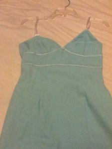 Express short dress Teal on Tradesy