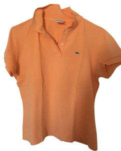 Lacoste Polo T Shirt Pink
