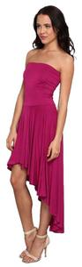 Gabriella Rocha Strapless Pink High-low Dress