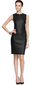 Vince Leather Leather Dress