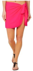 Body Glove Body Glove Smoothies Short Sarong Cover-Up Fabulush one size pink neon