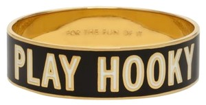Kate Spade RARE! Cheeky, Subversive, A Little Naughty! Kate Spade Play Hooky Bangle Bracelet NWT For the Fun of It Idiom Collection!
