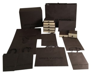 Louis Vuitton Authentic Boxes And Shopping Bags LOT