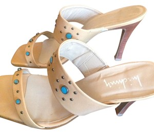 Luichiny Sexy Turquoise Heel Studded Summer Brazil Designer Slip On Leather Sale Tory Christian Sophisticated Elegant Tan Pumps