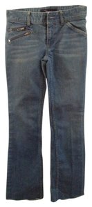 Marc by Marc Jacobs Zippers Straight Leg Jeans-Light Wash