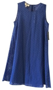 Donna Morgan short dress Blue on Tradesy