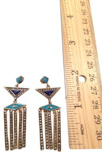 House of Harlow 1960 Pyramid Dangle Earrings