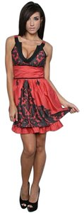 Free People Lace Trim Fit And Flare Dress