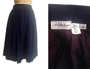 Saks Fifth Avenue Skirt NAVY