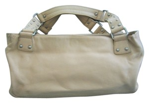 Kenneth Cole Basic Color Large Size Tote in BEIGE