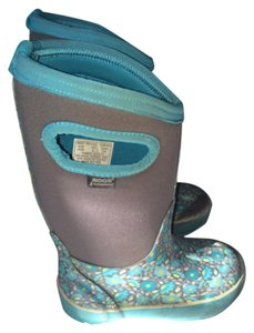 Bogs Turquoise, gray, multi Boots