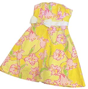 Lilly Pulitzer short dress Yellow Day Lilly on Tradesy