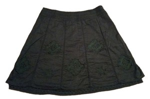 Apt. 9 Skirt Black with Lace Embellishments