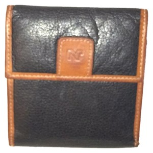 Nina Ricci Wallet Distressed Leather Vintage Nina Ricci