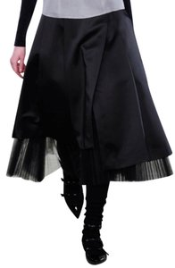 Marc by Marc Jacobs Tulle Runway Silk Skirt Black