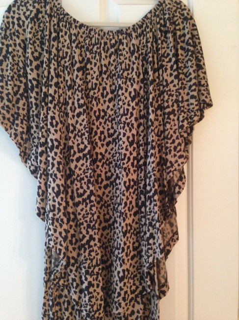 Rachel Roy short dress Black and beige on Tradesy
