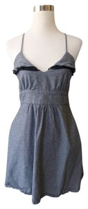 Metropark short dress Summer Black Lace Sleevless on Tradesy