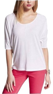 Express Dolman Sleeve Top White