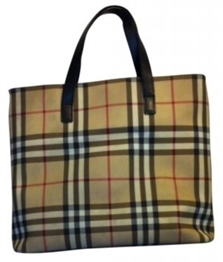 Burberry Tote in Traditional Burberry Plaid