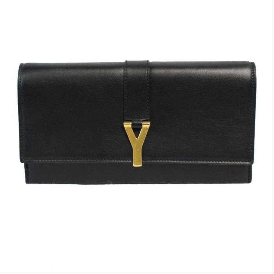 Yves Saint Laurent Black Wallet 36 Off Yves Saint