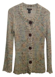 BCBG Max Azria Knit Sweater Vintage Multi-color Jacket