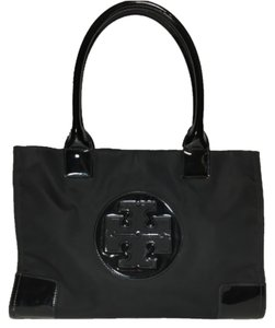 Tory Burch Ella Mini Tote in Black