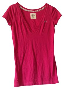 Hollister T Shirt hot pink