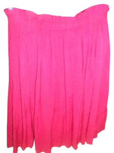 Forever Yours Size Small Size Petite Skirt BURGANDY
