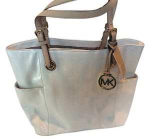 Michael Kors Signature Tote in White