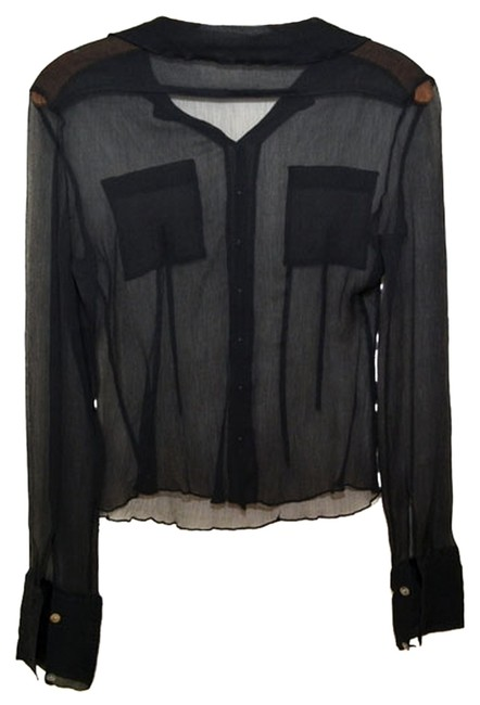 Preload https://item3.tradesy.com/images/black-sheer-see-blouse-size-4-s-912857-0-0.jpg?width=400&height=650
