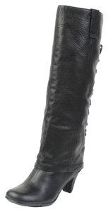 Gentle Souls Kenneth Cole Leather Black Boots
