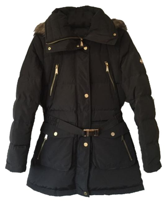 Item - Dark Olive Puffer Style Hits At Hip Coat Size 4 (S)