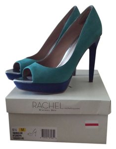 Rachel Roy Turquoise and navy blue Pumps