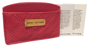Marc Jacobs Quilted Leather Card Case/Wallet