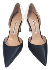 Manolo Blahnik Black and white Pumps