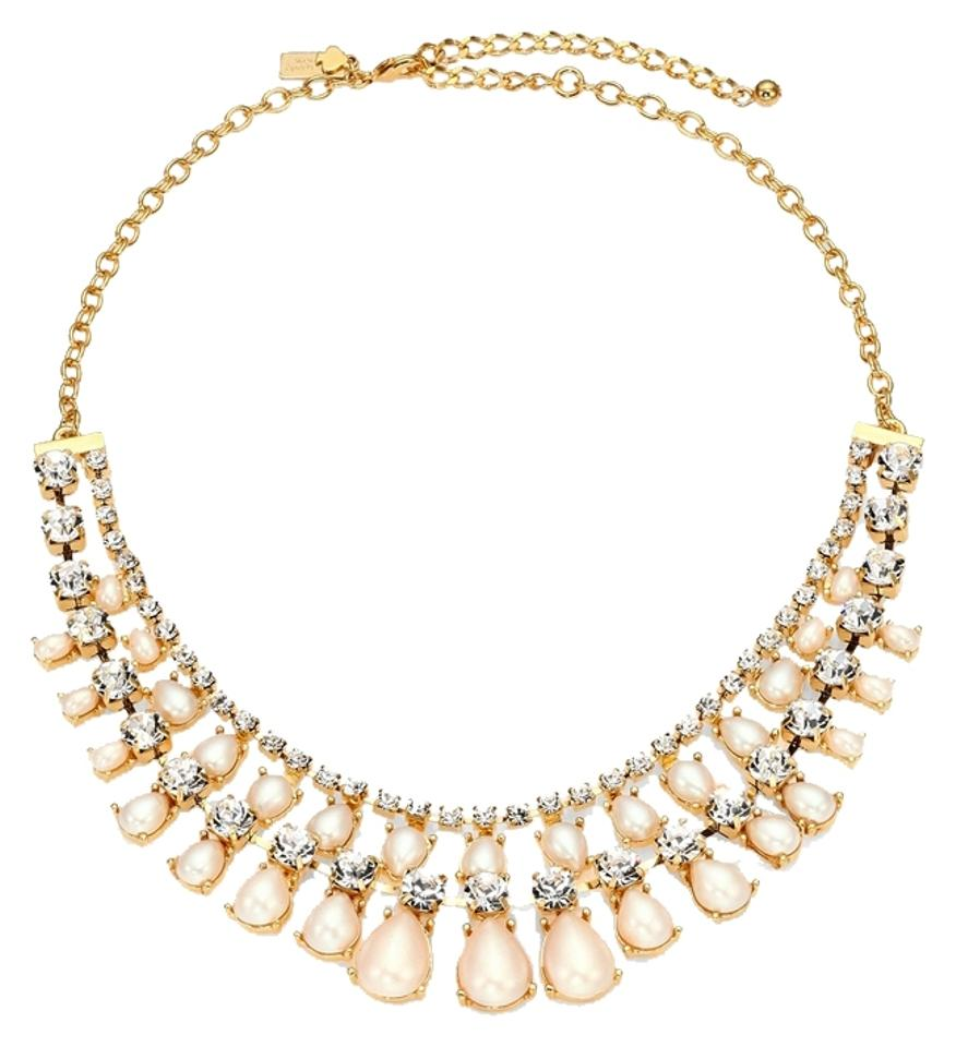 Kate Spade Classically Romantic Fusion Of Modernity! Kate Spade Seaview Pearls  Necklace Nwt Beautiful Craftsmanship