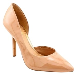 BCBG Paris Nude Patent Leather Pumps
