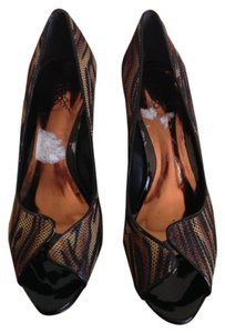 Carlos by Carlos Santana Animal Print Patent Leather Platforms