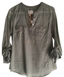 Holding Horses Button Down Shirt Green