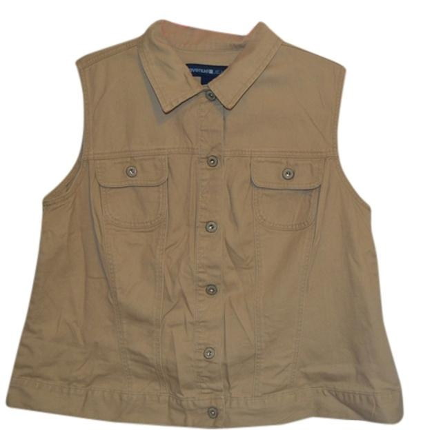 Preload https://img-static.tradesy.com/item/9133699/tan-denim-sleeveless-1820-vest-size-18-xl-plus-0x-0-2-650-650.jpg