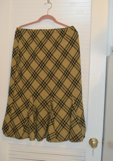 Nina Leonard Skirt Tan/Black Image 2