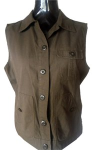 Rafaella Button Up Vest