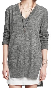 Banana Republic Panel Cool Edgy Classic Cloths Clothing Black Black Crisp Sweater