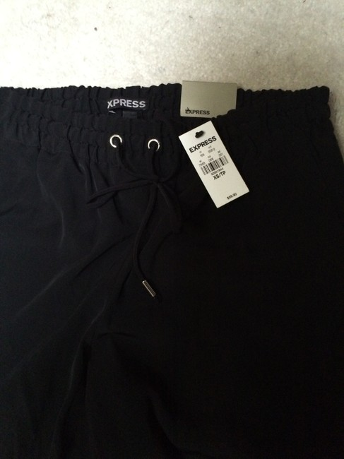Express Trouser Pants Black and white