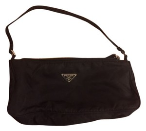 Prada Handle Nylon Shoulder Bag