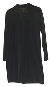 Banana Republic short dress Green Dark Velvet on Tradesy