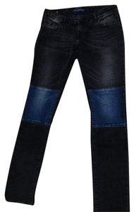 Maison Scott 98% Stretch Denim/2% Elastane Wash Cold Or Dry Clean. Rise: 7.5 In/19 Cm Inseam: 30 In/76 Cm Leg Opening: 12 In/30.5 Cm Skinny Jeans-Medium Wash