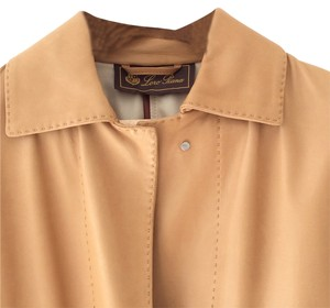 Loro Piana Calfskin Fully Lined Exclusive Color Coat