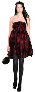 Marc by Marc Jacobs Strapless Holiday Runway Dress